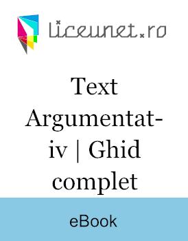 Cum se face un Text Argumentativ