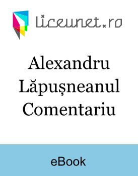 Alexandru Lăpușneanul Comentariu