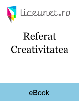 Referat Creativitatea
