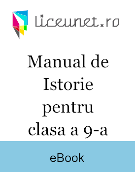 Manual de Istorie pentru clasa a 9-a