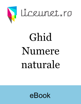 Ghid - Numere naturale