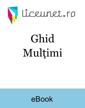 Ghid - Mulțimi