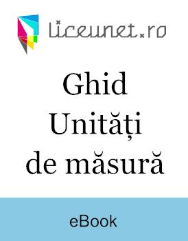 Ghid | Unități de măsură