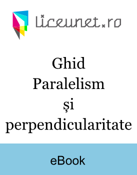 Ghid | Paralelism și perpendicularitate
